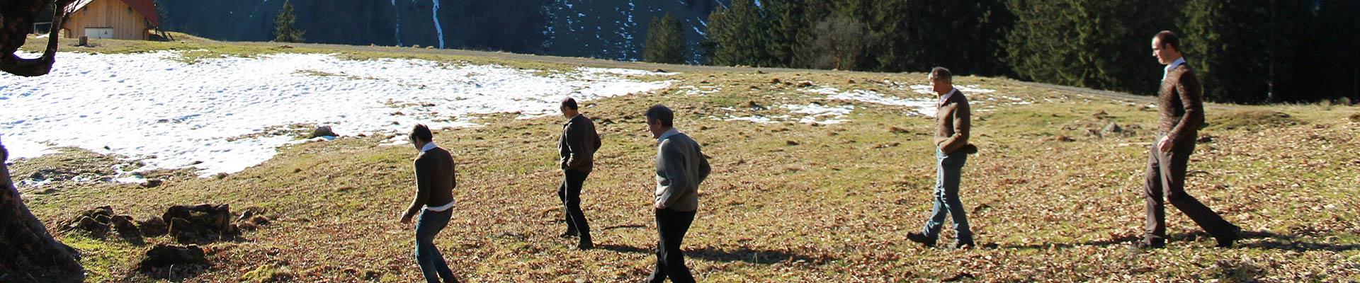 Holzergemeinschaft Bad Oberdorf Team