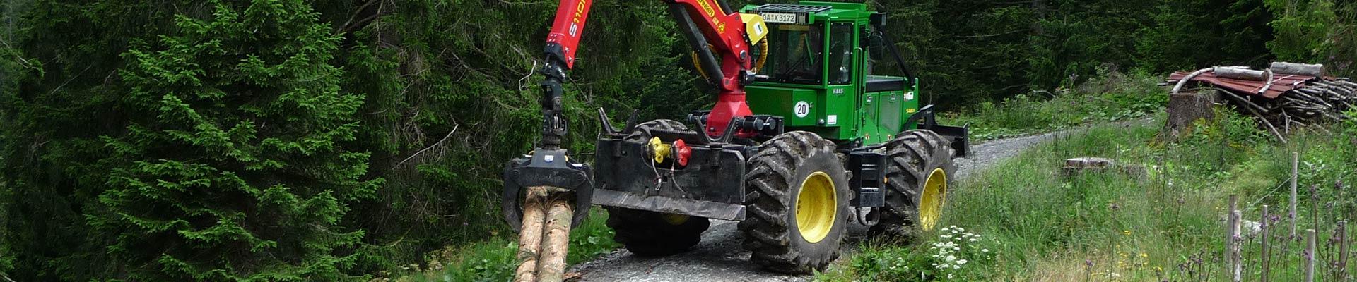 Arbeitsgeräte der Holzergemeinschaft Bad Oberdorf Team